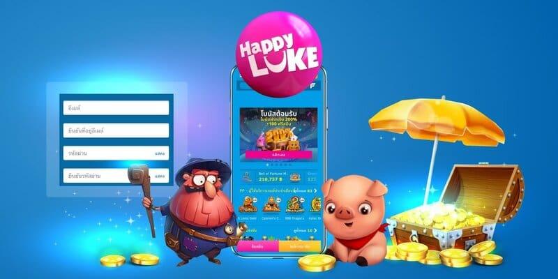 ช่องทางการเข้าถึง happy luke บันเทิงได้ทุกที่ทุกเวลา